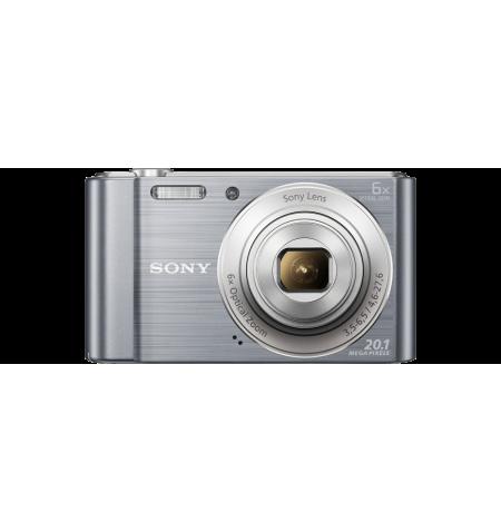 Máquina Fotográfica Sony W810 Prata - (DSC-W810S)