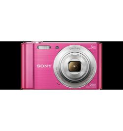 Máquina Fotográfica Sony W810 Rosa - (DSC-W810P)