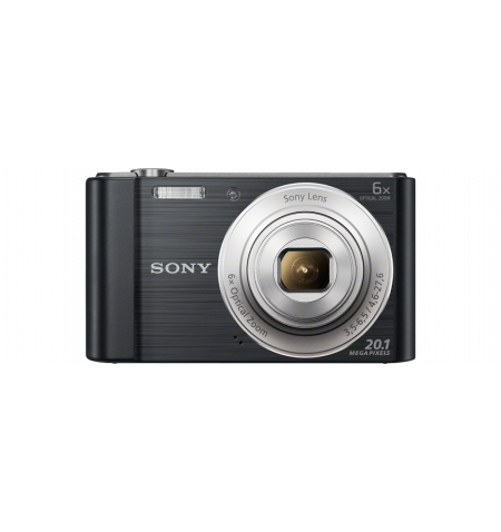 Máquina Fotográfica Sony W810 Preta - (DSC-W810B)