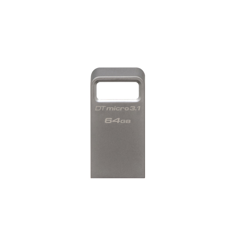 Data Traveler Micro 64GB USB 3.1/3.0 Type-A metal ultra-compact