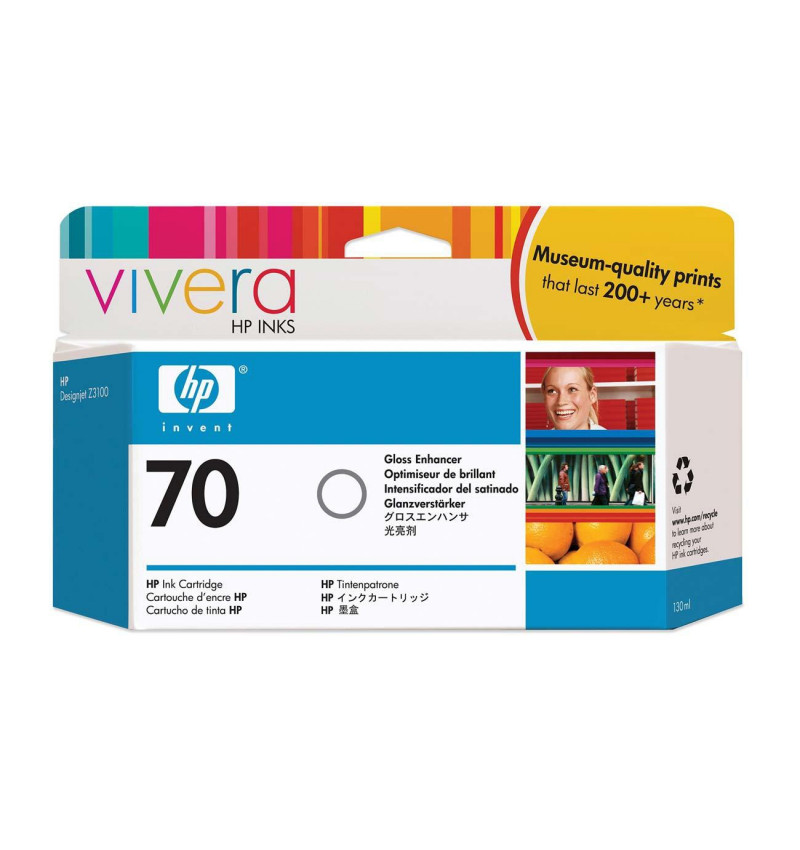 HP 70 130 ml Gloss Enhancer Ink Cartridge