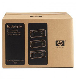 HP No. 90 Yellow 3-Ink Cartridge Multipack (400 ml each) - preço válido para unidades pré-estabelec