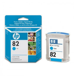 Cyan Ink Cartridge Used in the HP DesignJet 500/800 printer series.