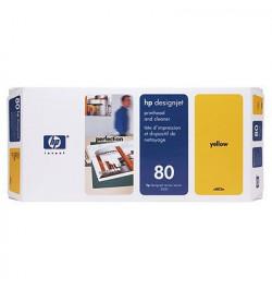 Cabeça de Impressăo HP Nş.80 Yellow