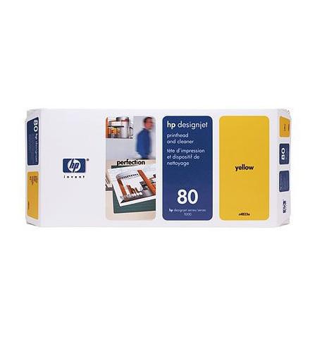 Tinteiro Original HP Nº.80 Amarelo C4823A