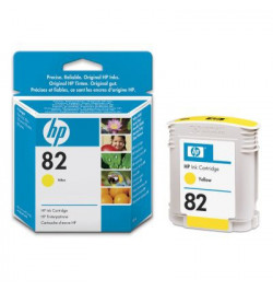 Yellow Ink Cartridge Used in the HP DesignJet 500/800 printer series.