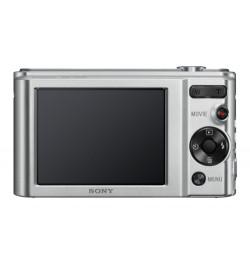 "Cyber-shot W800 Silver - Sensor CCD 20.1 MP, ecră 2.7"""