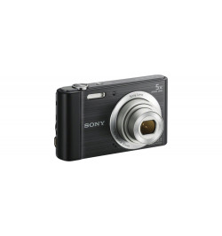 "Cyber-shot W800 Preta - Sensor CCD 20.1 MP, ecră 2.7"""
